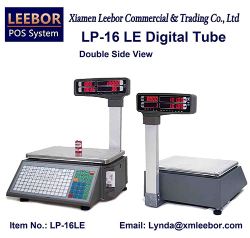 15/30kg Digital Barcode Label Pricing Scale, Supermarket Thermal Printer Desktop Weighing Scales