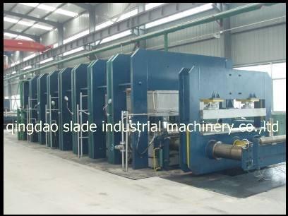 rubber hydraulic vulcanizing machinery/rubber machine in rubber processing machinery