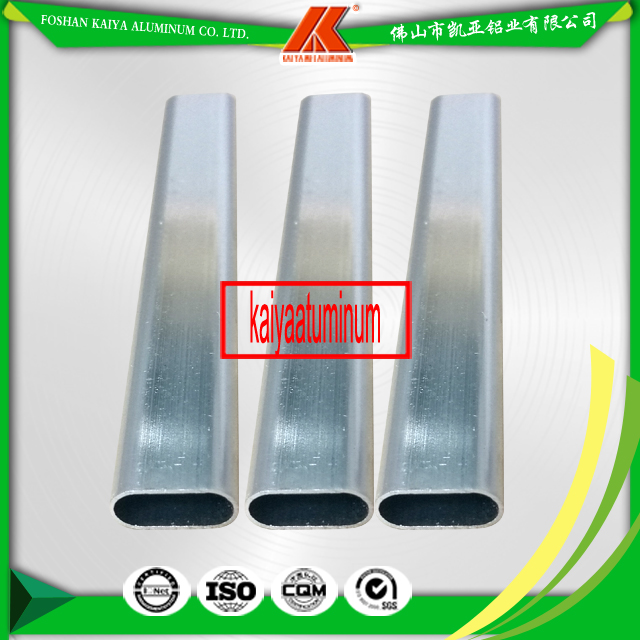 Anodized Aluminium Oval Pipe