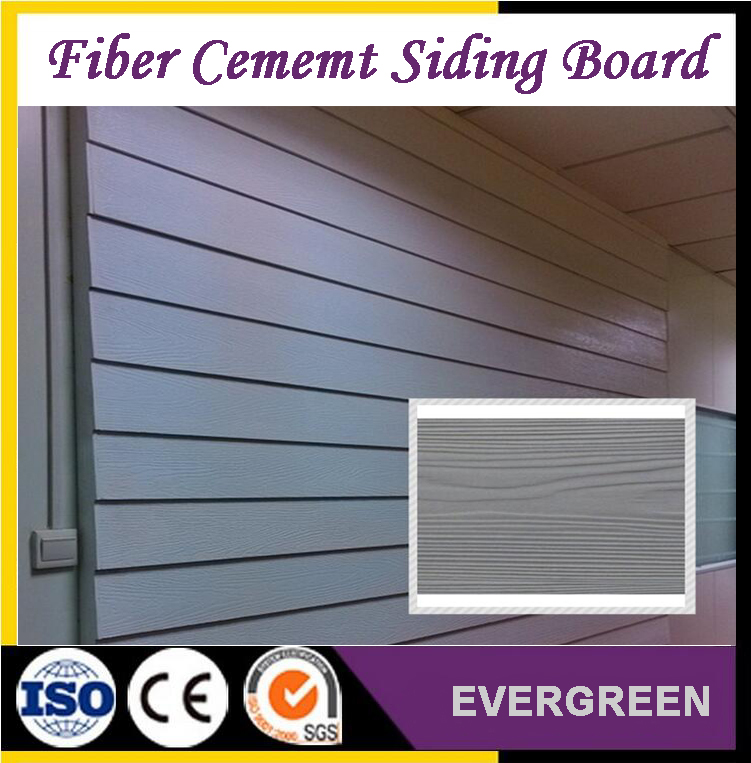 wood texture fiber cement board