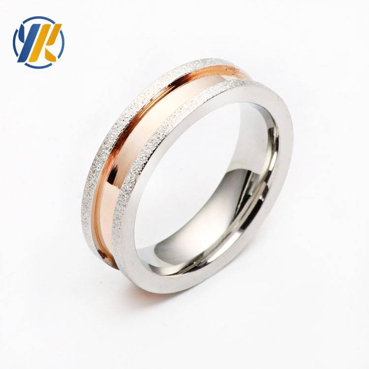 8MM Stainless Steel Ring Band Titanium Silver Men Wedding