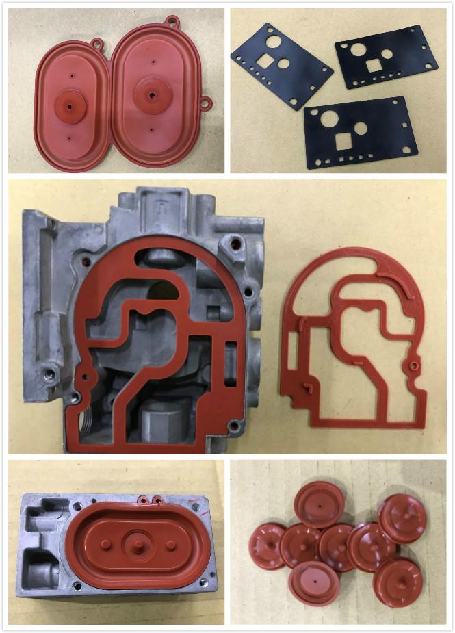 valve diaphragm rubber parts silicone rubber diaphragm for valve