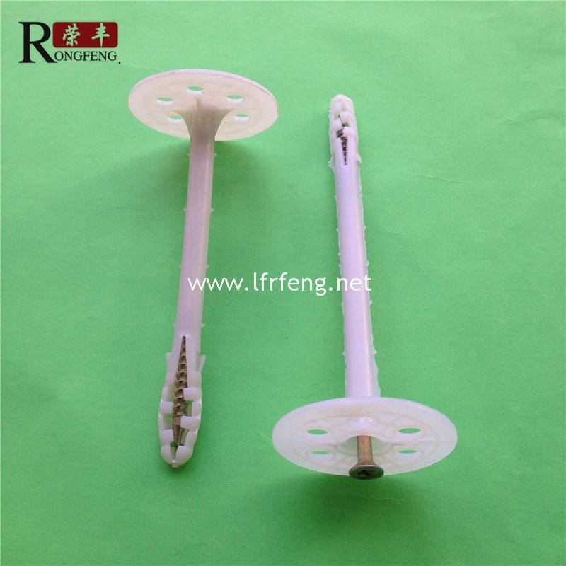Factory produce plastic insulation nail