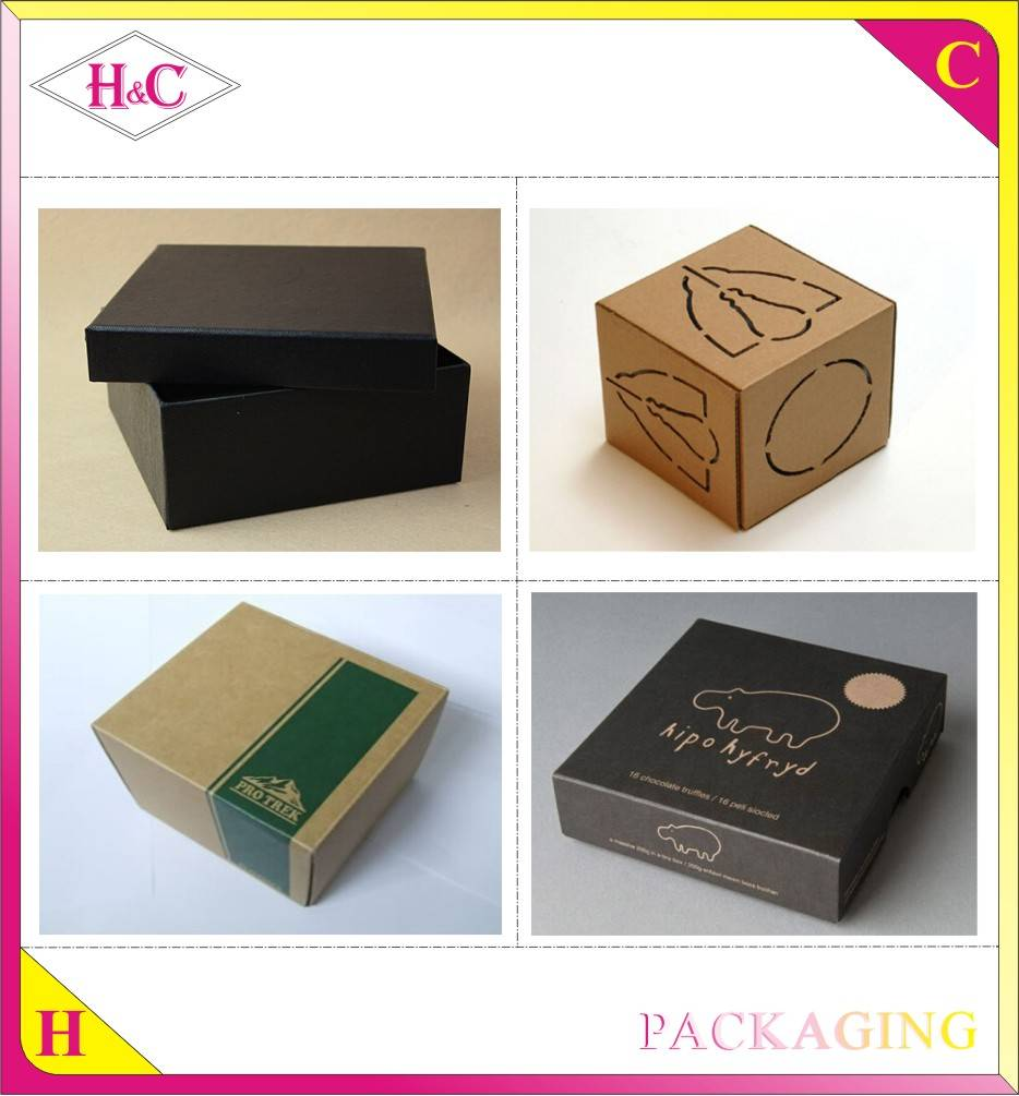 Paper box factory wholesale handmade Cardboard retail packaging customized gift boxes