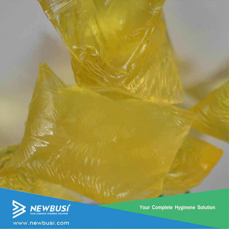 Raw Material Non-Toxic Hot Melt Adhesive Glue For Diaper