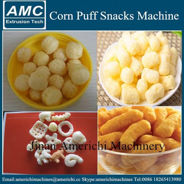 Puffed Corn Snacks Machine