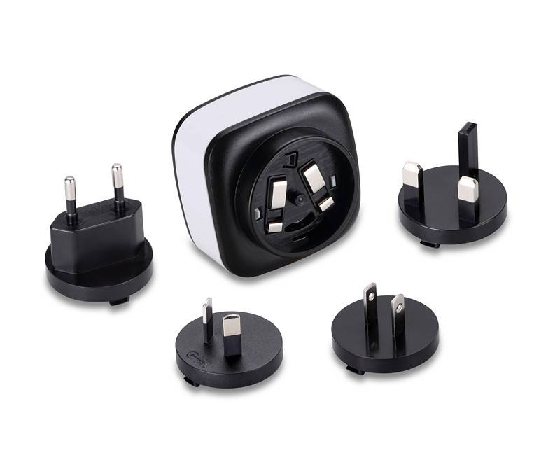 interchangeable plugs mobile phone chargers