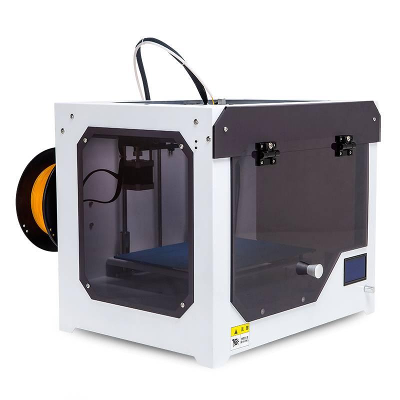 Manufacturer Personal Dual nozzle 3D Printer 200x200x230 mm 1KG Filament PLA