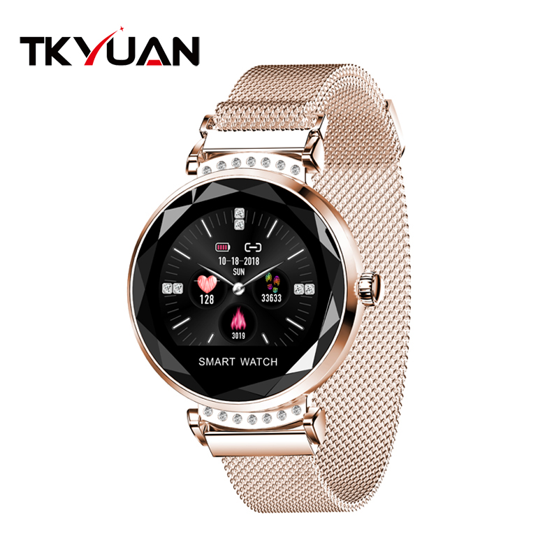 Women Smart Watch Physiology Periodic Monitor Blood Pressure Heart Rate Waterproof Woman Smartwatch