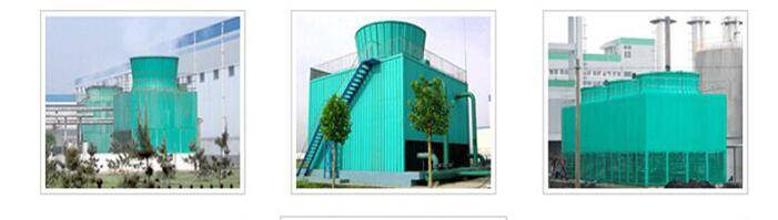 low noise type cooling towers