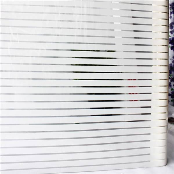 stripe transparent vinyl film