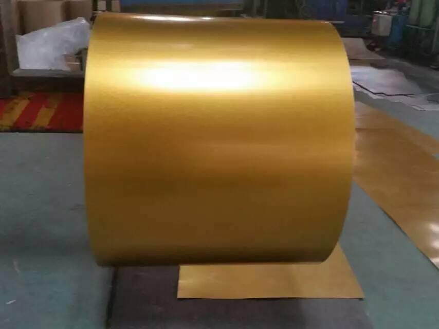 golden galvalume steel coil