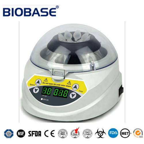 High Speed Medical Laboratory Mini Centrifuge