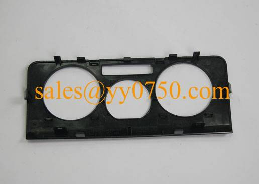 Injection molded automotive plastic Instrument Cluster