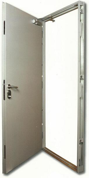 flush type fire door with FM certificates