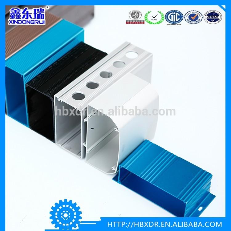 aluminium electrical supplies profile, aluminum electronic Enclosures