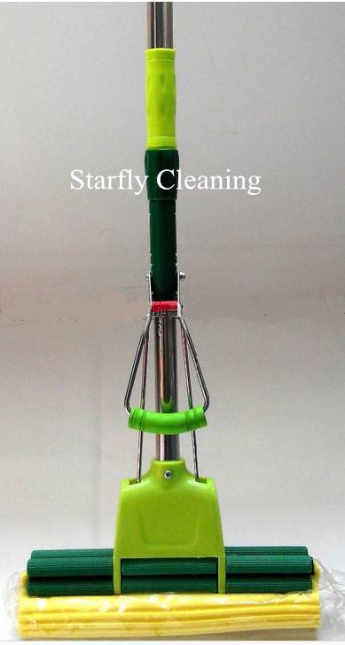 Detachable PVA Mop With Stainless Steel Handle 120CM