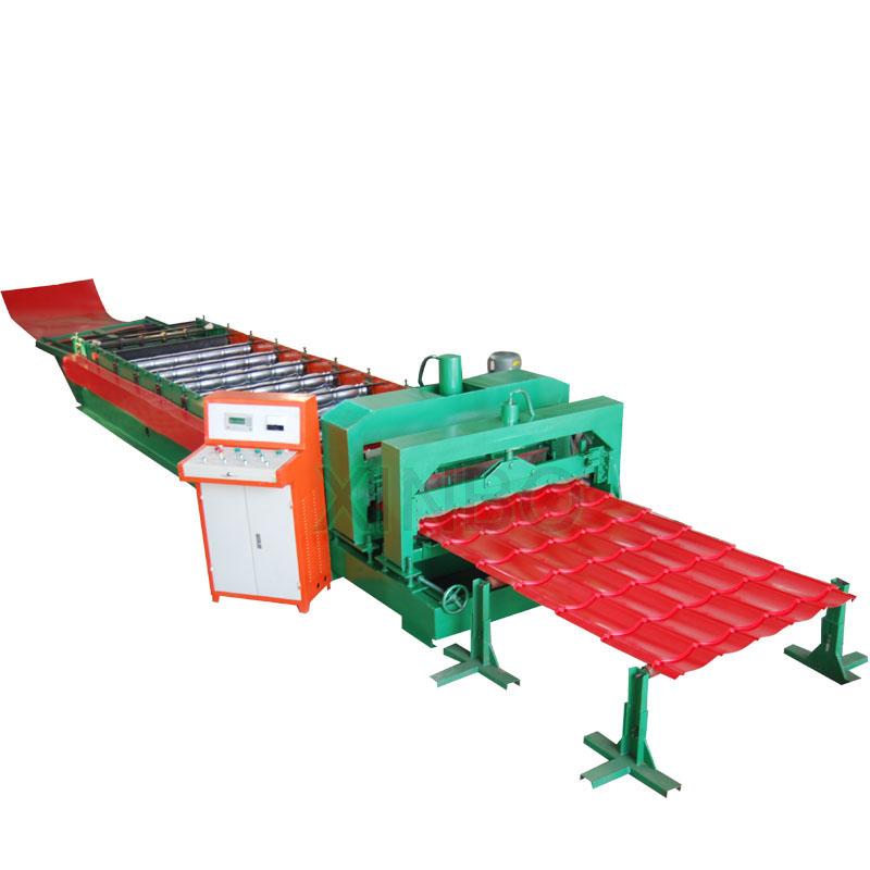 Glazed Roof Tile Board Forming Machine