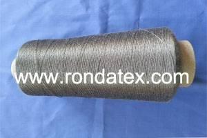 100% stainless steel fiber conductive metallic yarn