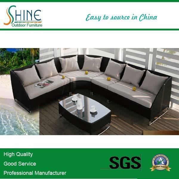 Hot Sale Cheap Garden Rattan Sofa Set C684