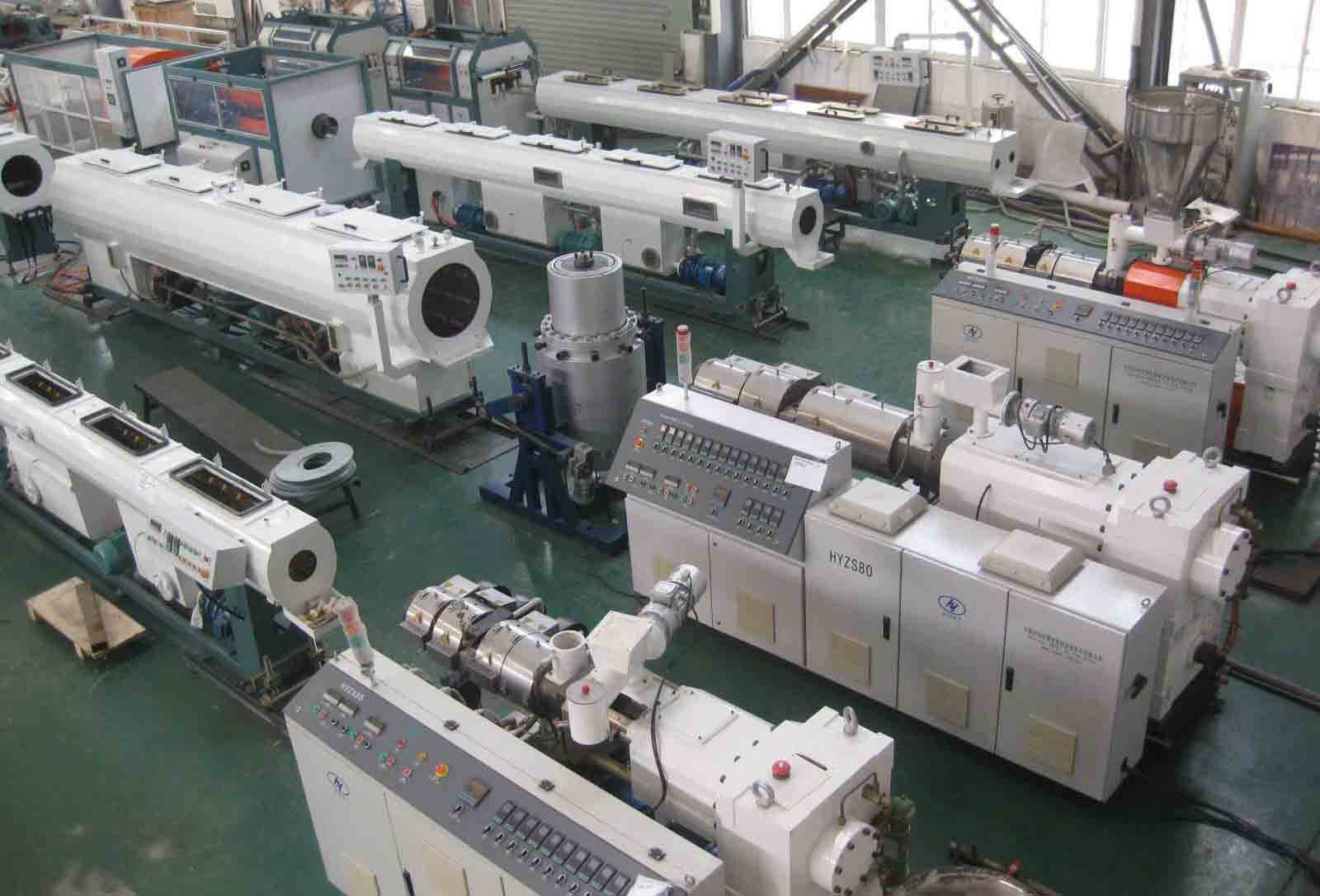PVC water supply production pipe line