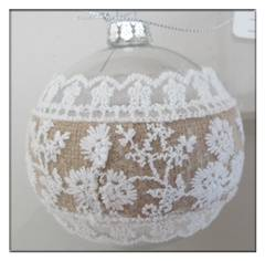 Hand Painted Christmas Decoration