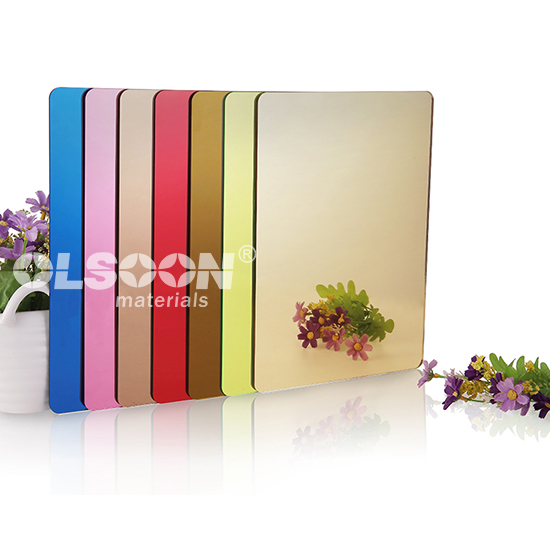 First Surface Acrylic Mirror Sheets Factory Direct Supply