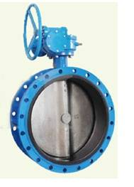 concentric flanged butterfly valve