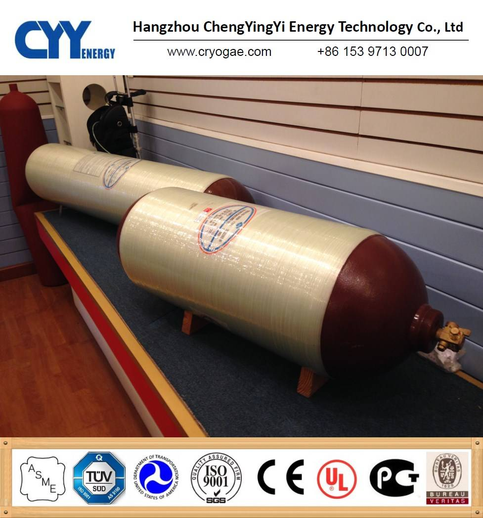 Fully wrapped composite cylinder
