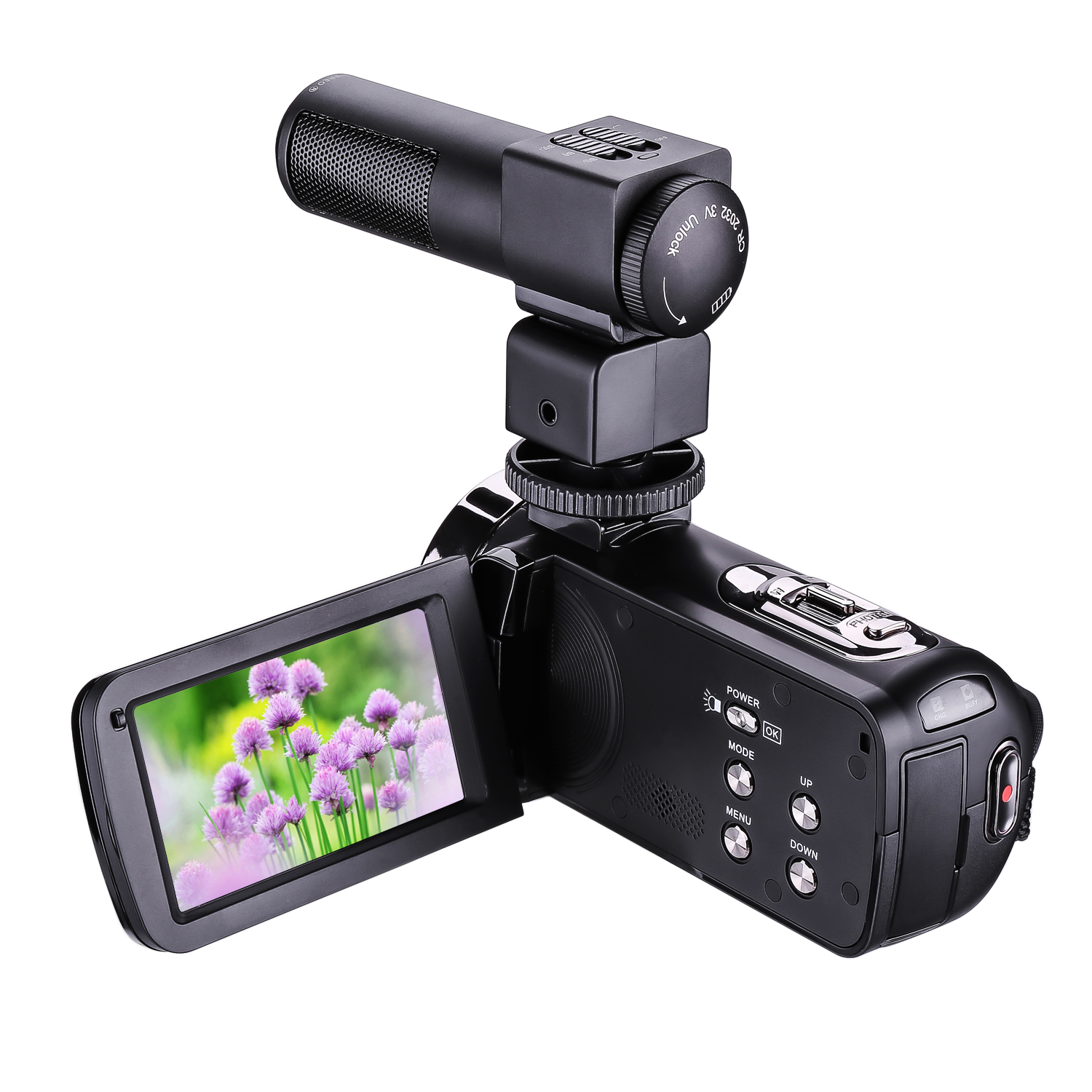 new arrival video camera hd 1080p IR mini DV supporting external microphone 301STRM