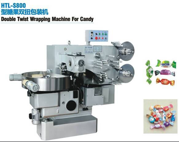 Double Twist Wrapping Machine For Candy