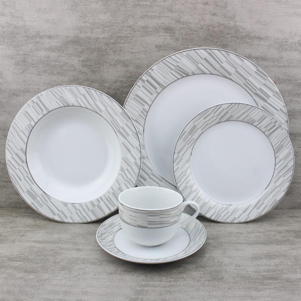 modern western style dinnerware