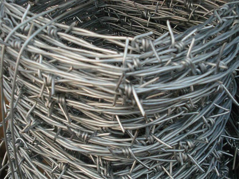 Zinc Coated / Galvanized Barbed Wire