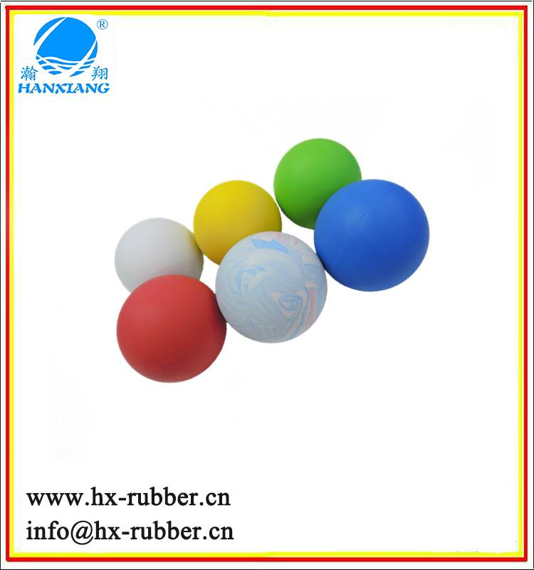 high silicone rubber bouncing balls