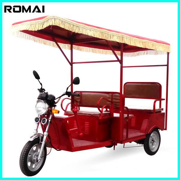 battery auto rickshaw,3 wheel car for sale with CE approved