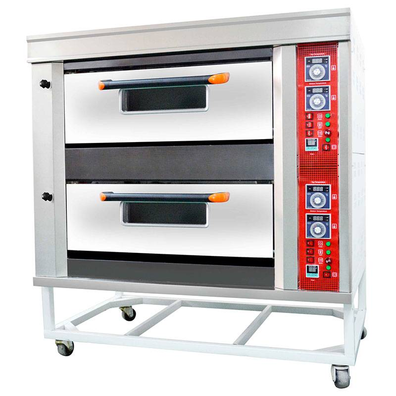 Stainless Steel Gas Deck Oven Of Bakery Equipment Series