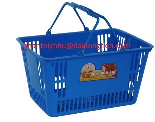 plastic shop basket