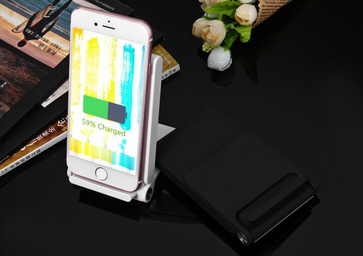 QI Fast Charging Wireless Charger Thin Support Stand Three Coil Q740 For LG Nexus 5/4/7 For Galaxy S