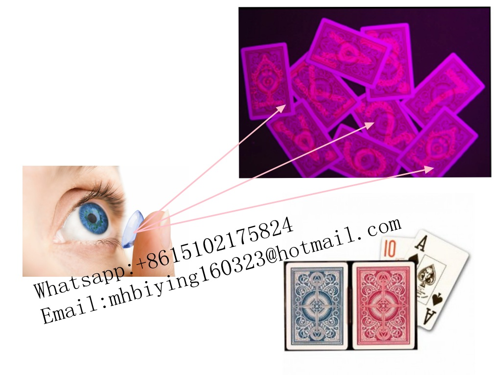 Secret Marked Poker Cards Perspective Playing Cards Magic Props Magic Tricks