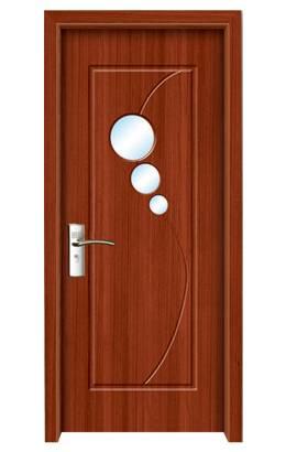 New Design PVC single Interior Wooden Doors design (MP-027)