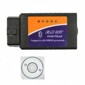 ELM327 Bluetooth software OBD2 EOBD CAN-BUS Scanner Tool