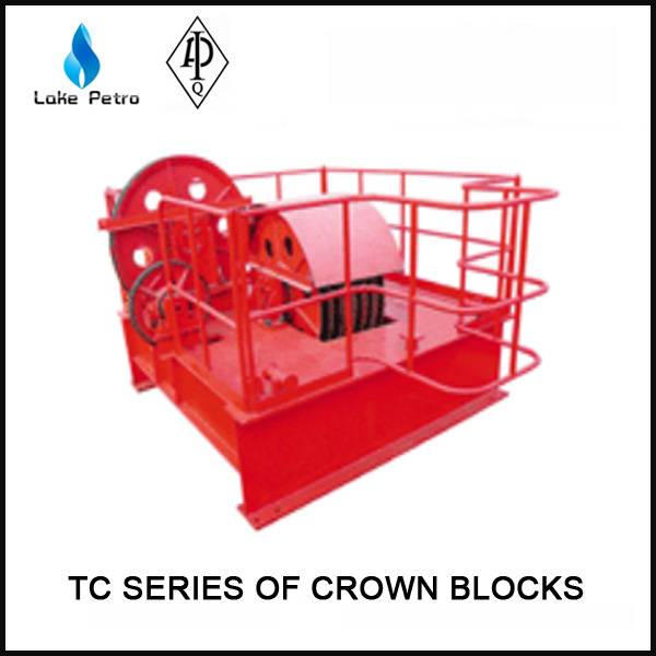 High quality API TC series of crown block