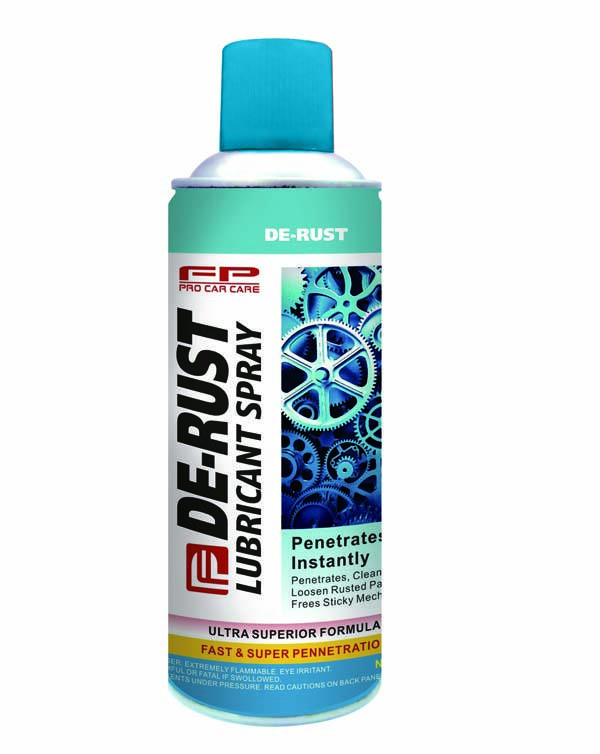 DE-RUST LUBRICANT SPRAY