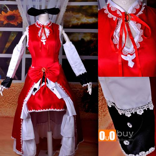 OUOBUY Anime Cosplay Costume Puella Magi Madoka Magica Of Madola Cosplays Sakura Kyouko Cosplay Cost