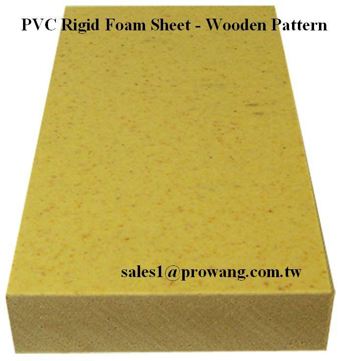 PVC Rigid Foam Sheets - Wooden Color