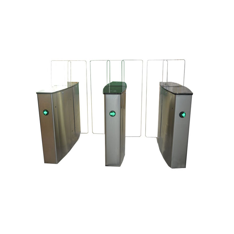 china manufacturer automatic full height swing sliding turnstile for office building