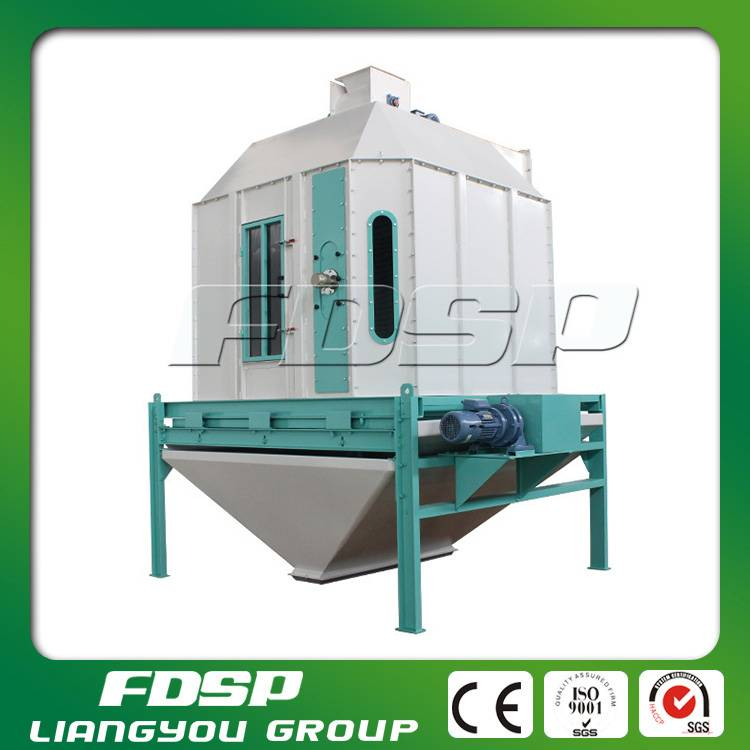 6t/H Counter Flow Fertilizer Pellet Cooler for Sale