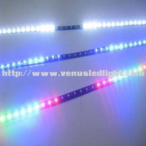 48-LED Car Strip Line Scan Light Bulb Knight Rider RGBW