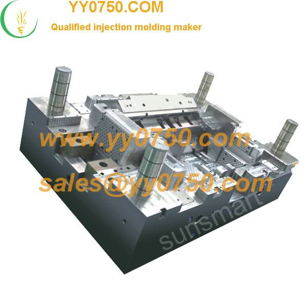 Air conditioner underpan injection moulding