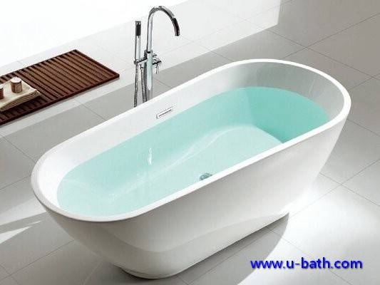 Offer freestanding acrylic bath tub for interior decoration